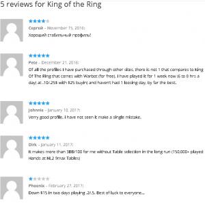 Image 6 - statistics KingOfRing