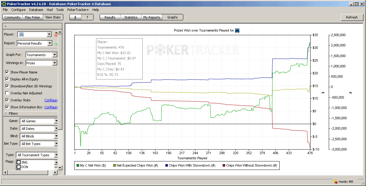 Openholdem profile Moonshine test results 3 image
