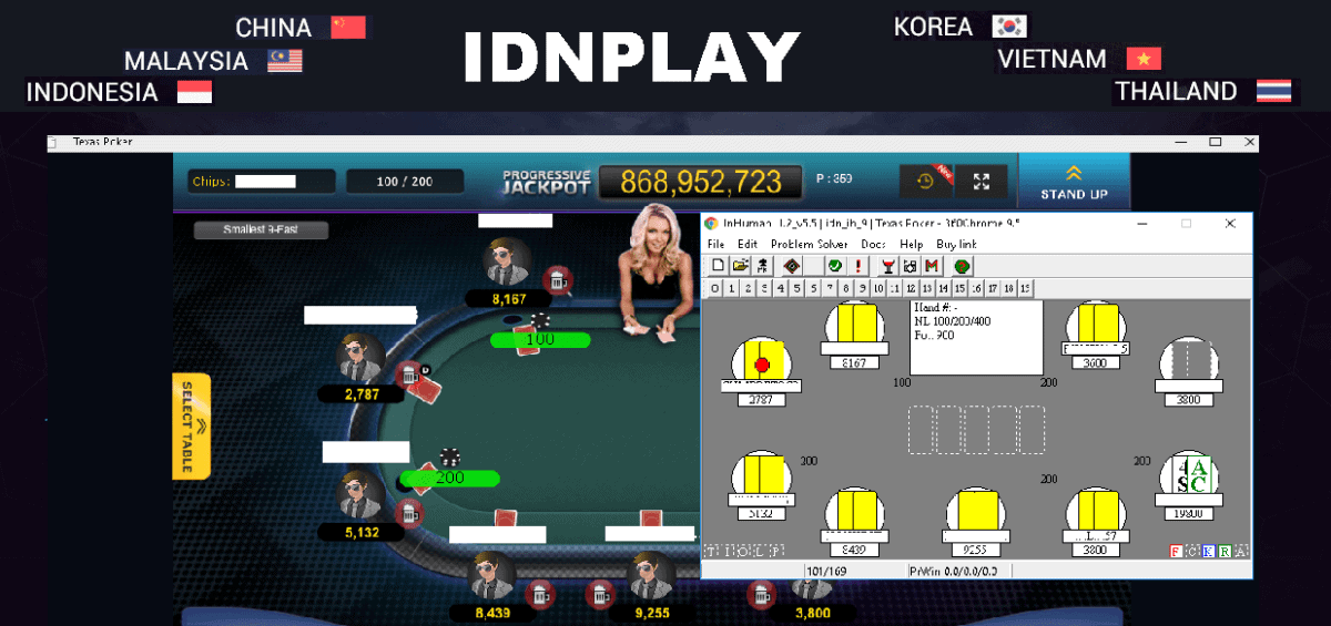 Now supported IDNPLAY poker! - Poker Bot