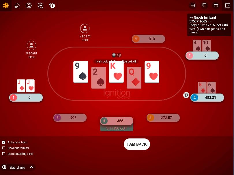 Ignition Casino Update