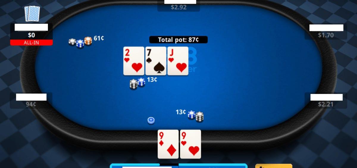 New 888poker table